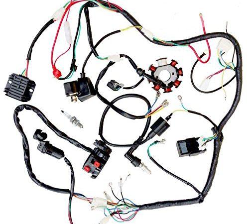 Jikan Complete Wiring Harness Kit Wire Loom Electrics Stator Coil